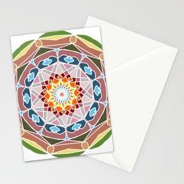 Holi festival colors Stationery Cards