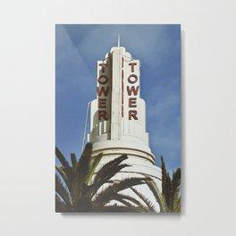 tower theater Metal Print