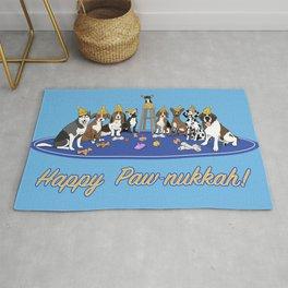 Happy Paw-nukkah! - Happy Hanukkah Rug