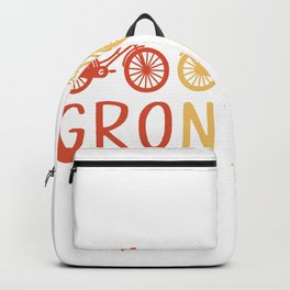 Groningen Retro Bicycle Souvenir TShirt Dutch Flag Shirt Netherlands Cycling Gift Idea  Backpack