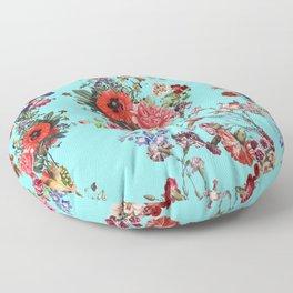 Botanic Pattern Floor Pillow