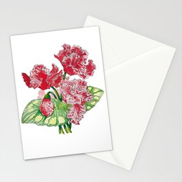 Wave of Florals  Stationery Cards