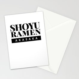 Shoyu Ramen Akasaka Japan Food Stationery Cards