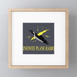 Infinite Plane Radio Framed Mini Art Print