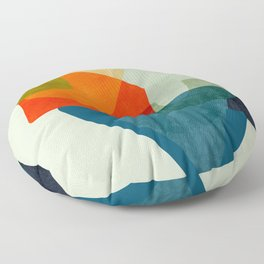 bric a brac mid century  Floor Pillow