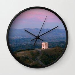 Mt. Umunhum - San Jose, CA Wall Clock