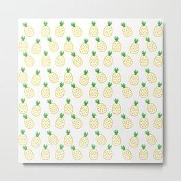 06DA131   Fruit   Pattern   Digital Art   Artist Amiee Metal Print