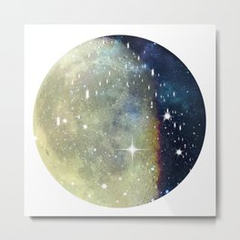 La Luna Metal Print