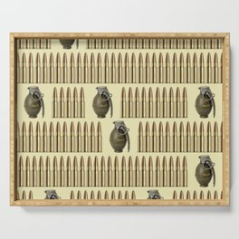 Ammo and grenades Serving Tray