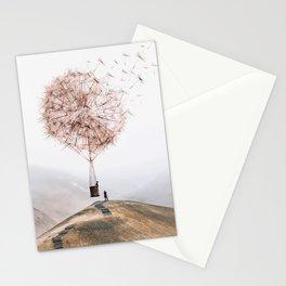 Flying Dandelion Stationery Cards