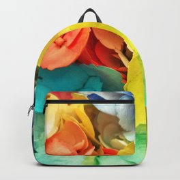 Rainbow-Colored Flowers: ALL Colors are Loved Backpack
