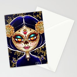 Calavera de La Muerte Stationery Cards