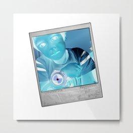 negitive 03 Metal Print