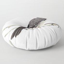 Northern mockingbird - Cenzontle - Mimus polyglottos Floor Pillow