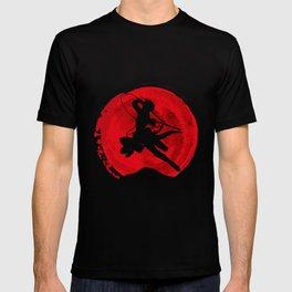 Red Levi akerman T-shirt