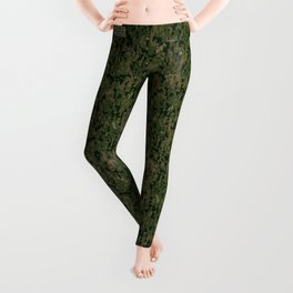 Digital Camouflage Leggings - Type Woodland USA, by Mision Militar ™ Leggings