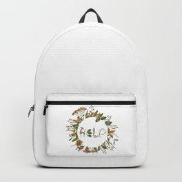 Nature screams - H E L P Backpack