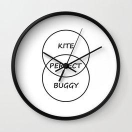 Kiteboarding Wall Clock