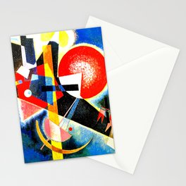 Wassily Kandinsky - In Blue - Abstract Art Stationery Cards