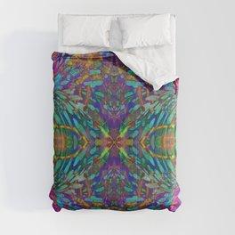 Buddha 5 geometry III Comforters