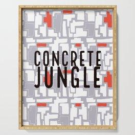 Concrete Jungle / #1 Serving Tray