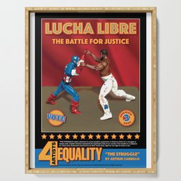 Lucha Libre, The Struggle Serving Tray