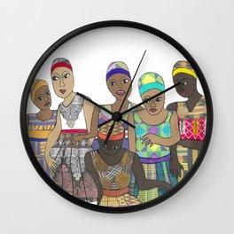 Dancers Wall Clock