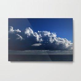 Ocen Clouds Metal Print