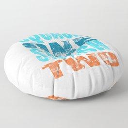 SQUASH ONE SQUASH TWO Floor Pillow