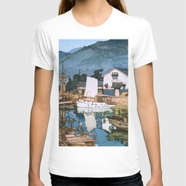 Yoshida Hiroshi - The Inland Sea Series, Second Series - Tomonoura Harbor  T-shirt