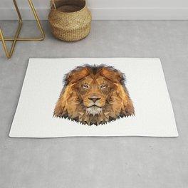 Lion poly Rug
