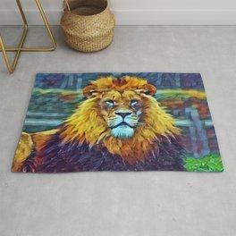 Lion Pride In Slumber Rug