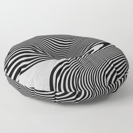 liquify line Floor Pillow