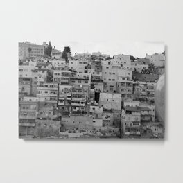 Across the Kidron Valley from Jerusalem Metal Print