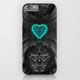 Blueheart iPhone Case