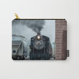 Strasburg Railroad Steam Engine #90 Vintage Train Locomotive Pennsylvania Carry-All Pouch