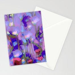Spring Blush too, Mauve Moods Stationery Cards