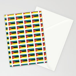 Flag Of mozambique-Mozambique,mozambican,Moçambique,moçambicano,moçambicana,Maputo Stationery Cards