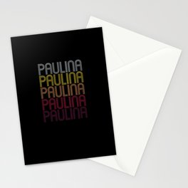 Paulina Name Gift Personalized First Name Stationery Cards
