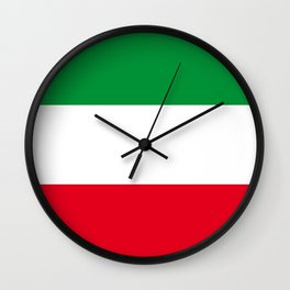 flag of Nordrhein-Westfalen (North Rhine-Westphalia) Wall Clock