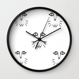 KITTY x 5 Wall Clock