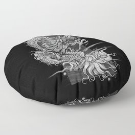 The dragon Floor Pillow
