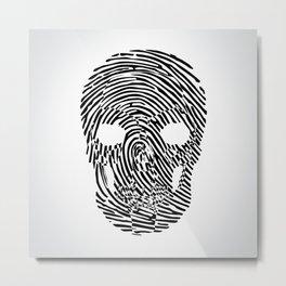 Thumbskull Metal Print