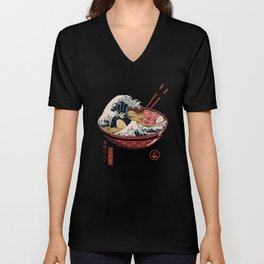 Great Ramen Wave Unisex V-Ausschnitt