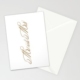 Mr. and Mrs. Stationery Cards
