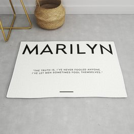 TRUTH QUOTE Rug
