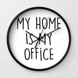 HOME OFFICE Wall Clock