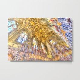 Cathedral Chapel Art Metal Print