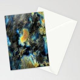 Illuminated Structure: Labradorite1 Stationery Cards