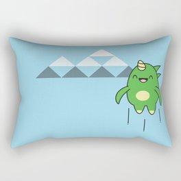 Kawaii Dragon Rectangular Pillow